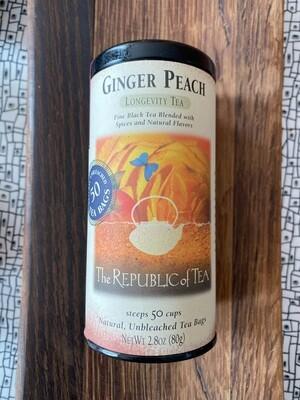 Ginger Peach Tea bags