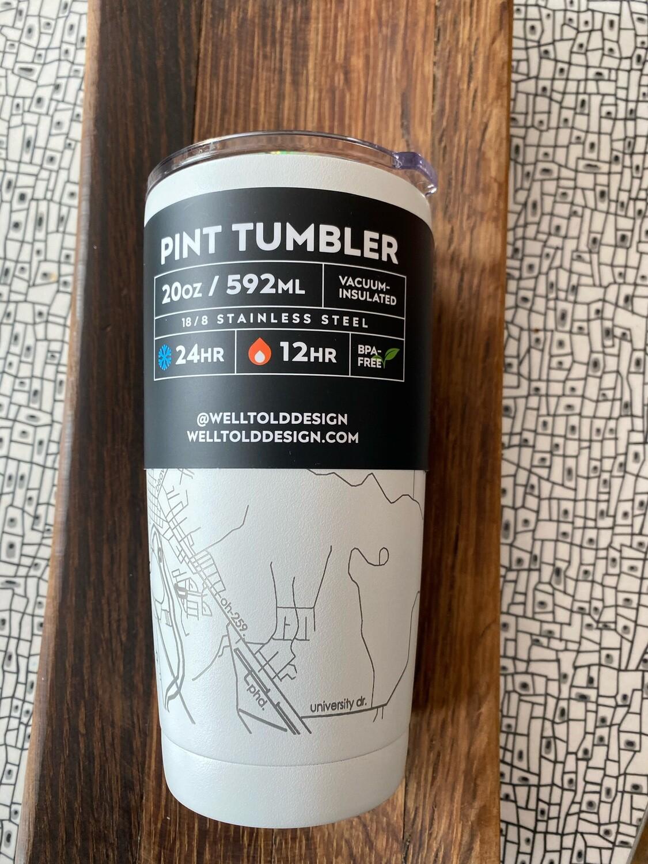 Pint Tumbler - New Philadelphia Map