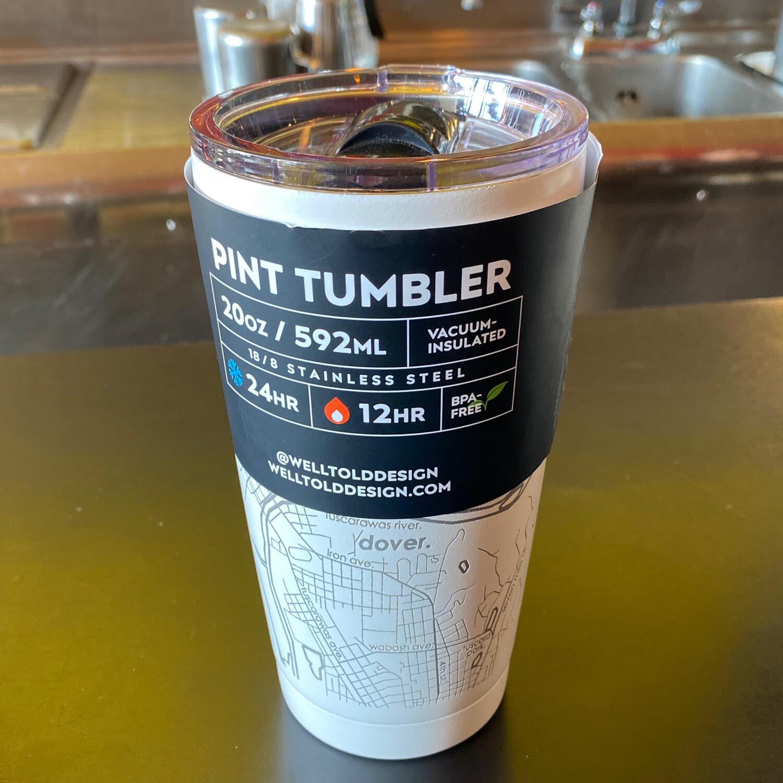 Pint Tumbler - Dover Ohio Map