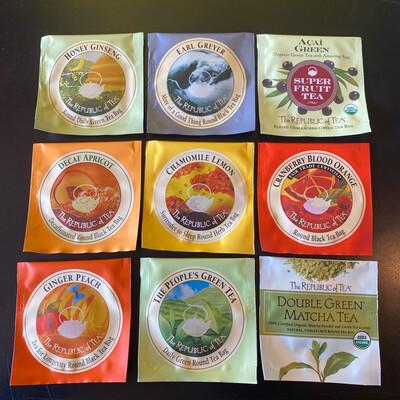 Tea Sampler - Single Republic Of Tea Bag