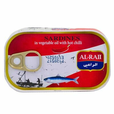 Sardines in Vegetable Oil with hot chilli