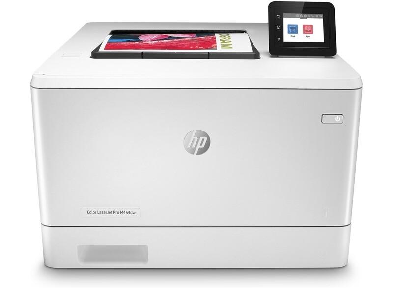 Impresora HP LaserJet Pro a color M454dw