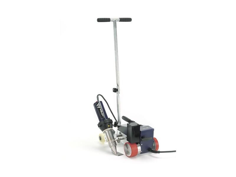 Сварочный автомат горячего воздуха Weldy ROOFER RW3400, шов 40 мм