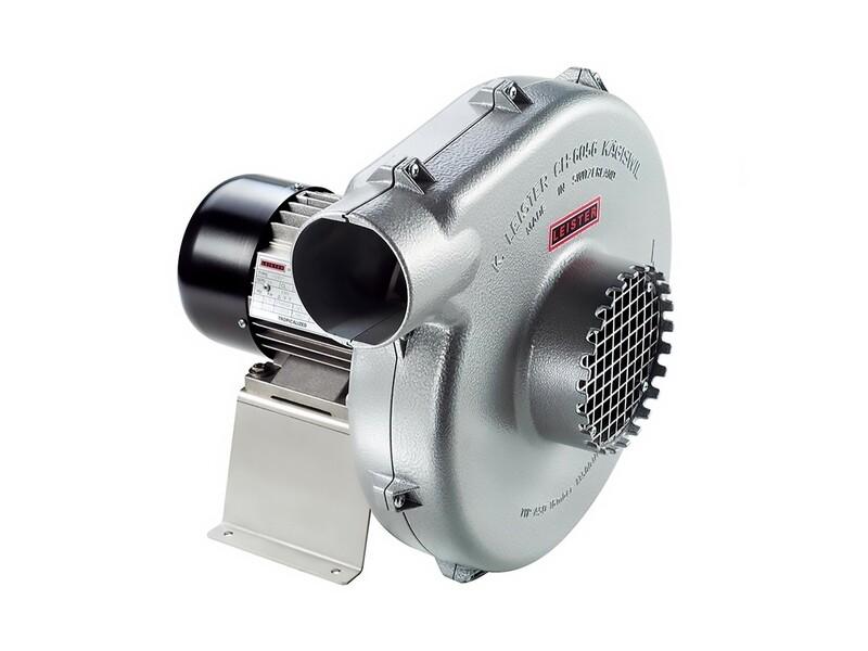 Вентилятор среднего давления АSО с конденсатором