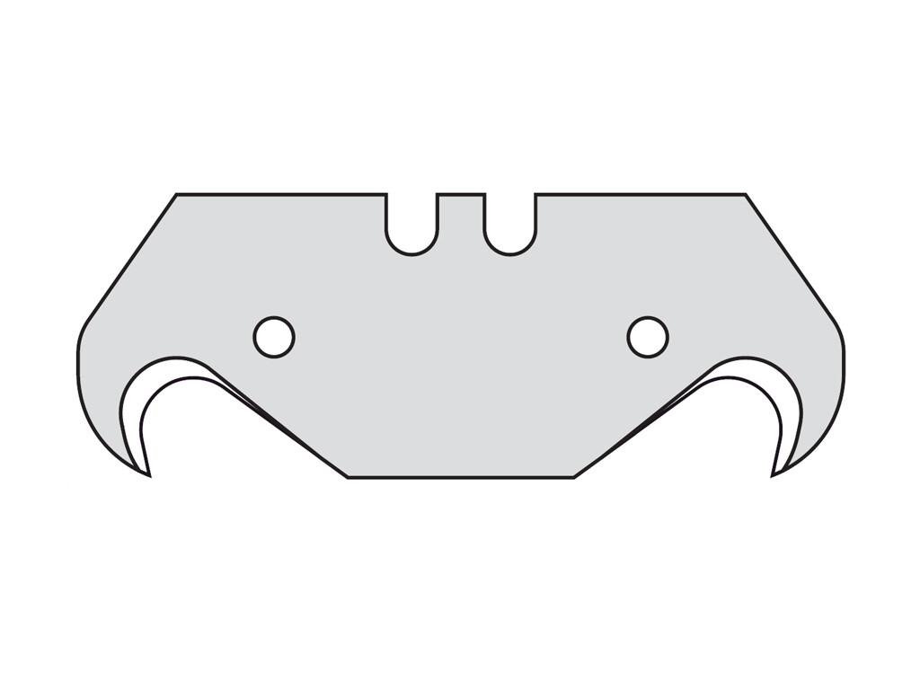 Крючкообразные лезвия Mozart,0,65 мм,10 шт