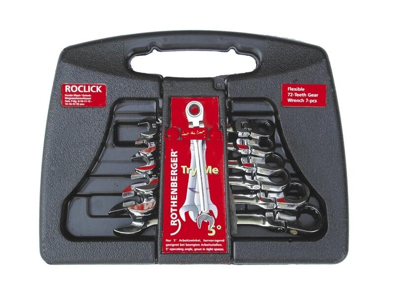 ROCLICK набор ключей, 7 предм. (Роклик)