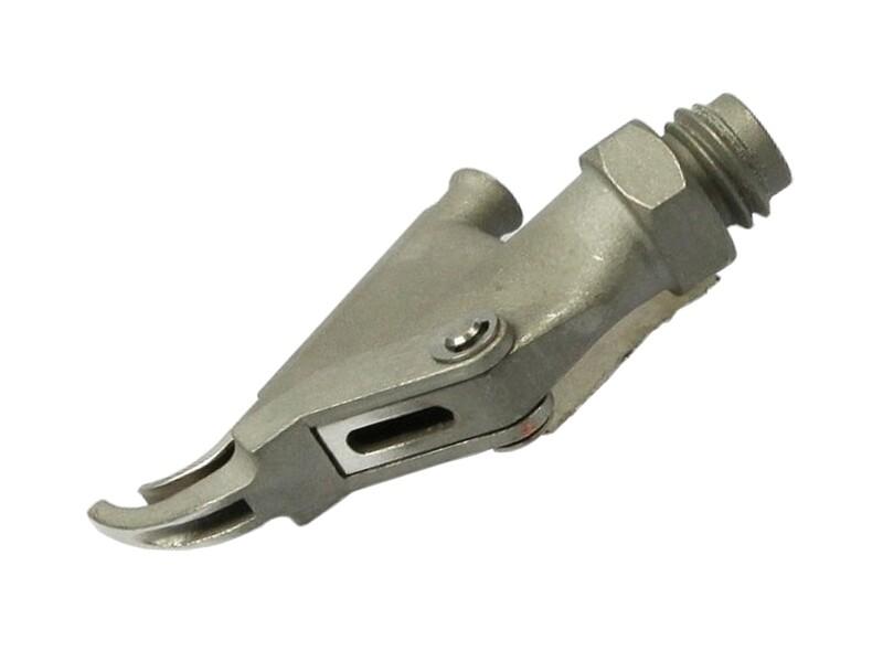 Насадка быстрой сварки для профильного прутка D-4 мм с клином навинчиваемая