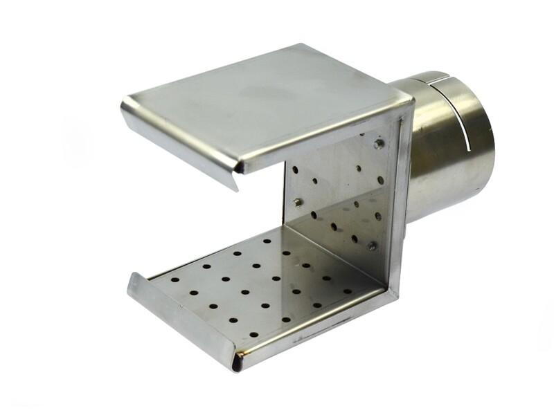 Решетчатая рефлекторная насадка ( a x b ) 70 х 75 мм (насаживается)