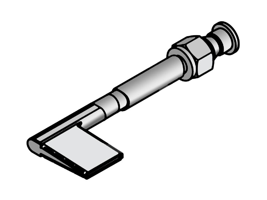 Сварочная насадка для подворотов 25 мм