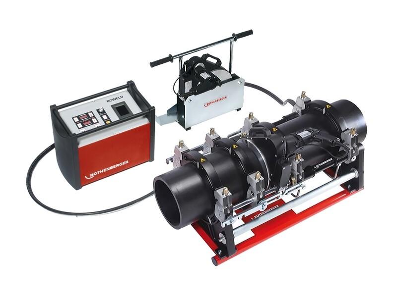 Стыковая сварочная машина с гидравлическим приводом ROWELD P250 В PREMIUM CNC SА