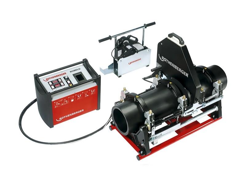Стыковая сварочная машина с гидралическим приводом ROWELD P 355 B PREMIUM CNC VA