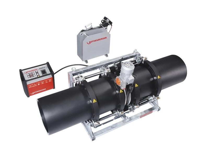 Стыковая сварочная машина с гидравлическим приводом ROWELD P500 В PREMIUM CNC SА