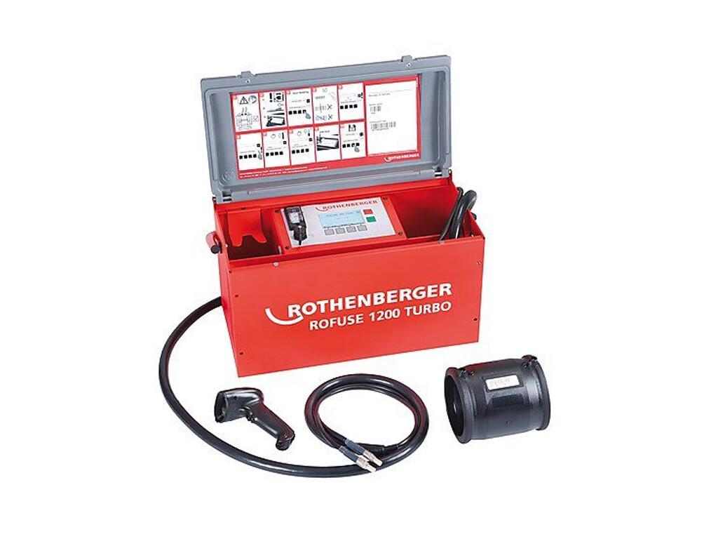 Сварочный аппарат для электромуфтовой сварки полимерных труб ROWELD ROFUSE 1200 TURBO