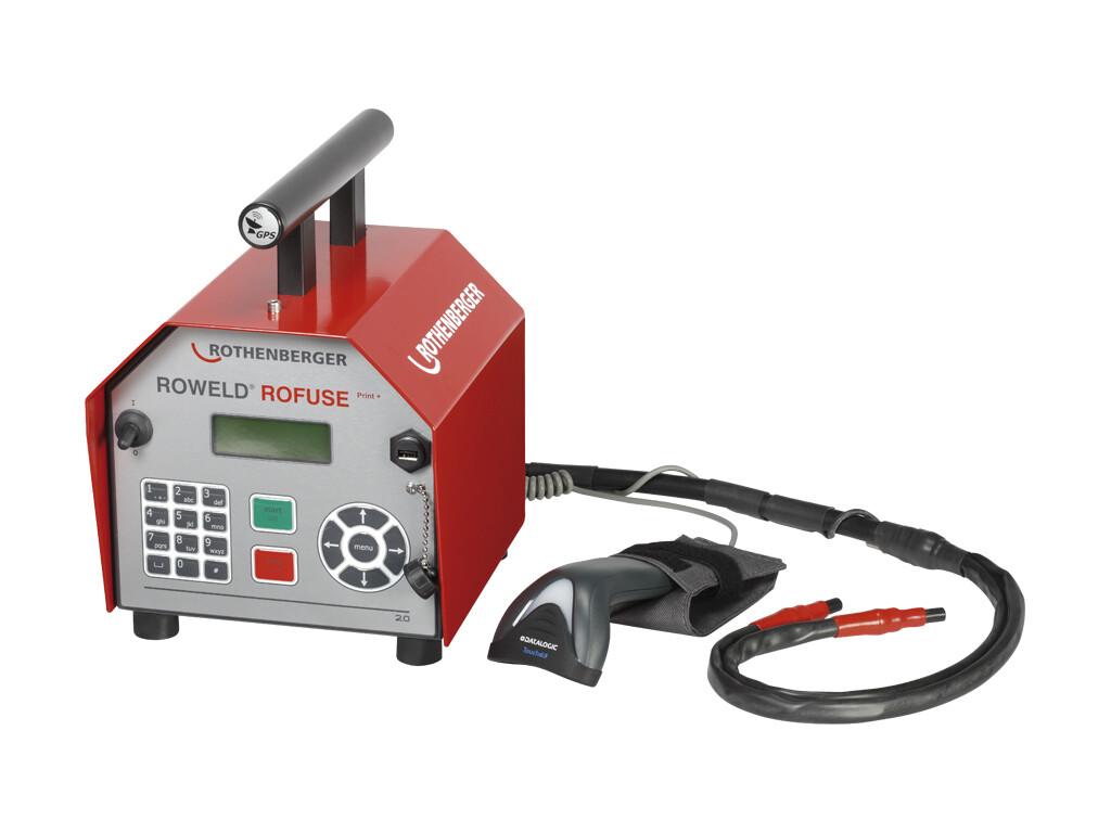 Сварочный аппарат для электромуфтовой сварки полимерных труб ROWELD ROFUSE