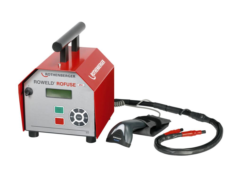 Сварочный аппарат для электромуфтовой сварки полимерных труб ROWELD ROFUSE +