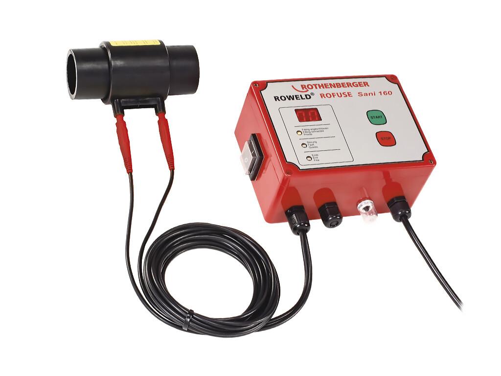 Сварочный аппарат для электромуфтовой сварки полимерных труб ROWELD ROFUSE Sani 160