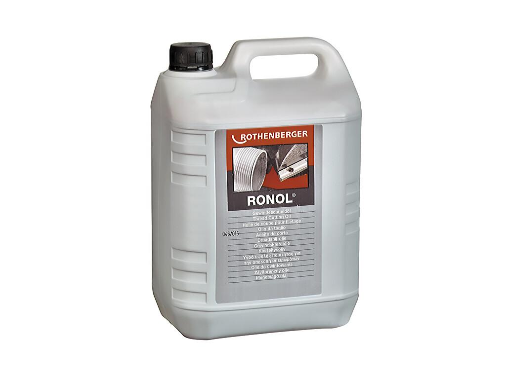 Резьбонарезное масло RONOL Премиум на минеральной основе (в канистре, 5 л)