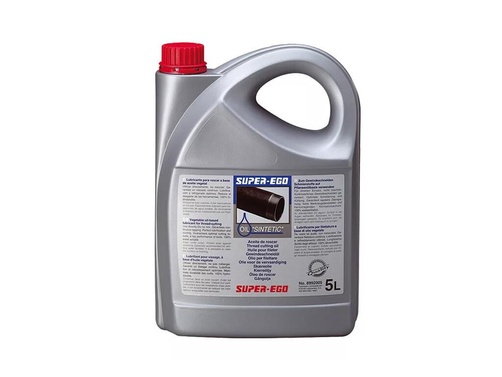 Синтетическое масло для нарезания резьбы (канистра, 5 л) SUPER-EGO