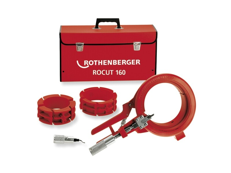 Устройства для резки и снятия фаски ROCUT 160 (Рокат) для полимерных труб D 110 - 125 - 160 мм