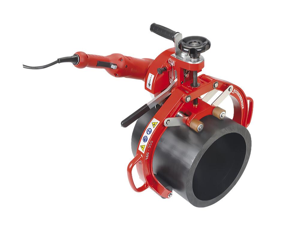 Циркулярная пила ROCUT UKS 160/355 (Рокат UKS 160/355) для пластиковых труб 160-355 мм