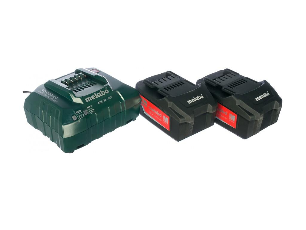 Аккумулятор Basic-Set (Бейсик Сет) 4.0 (2 аккумулятора 4.0Ач + ЗУ ASC 30-36)