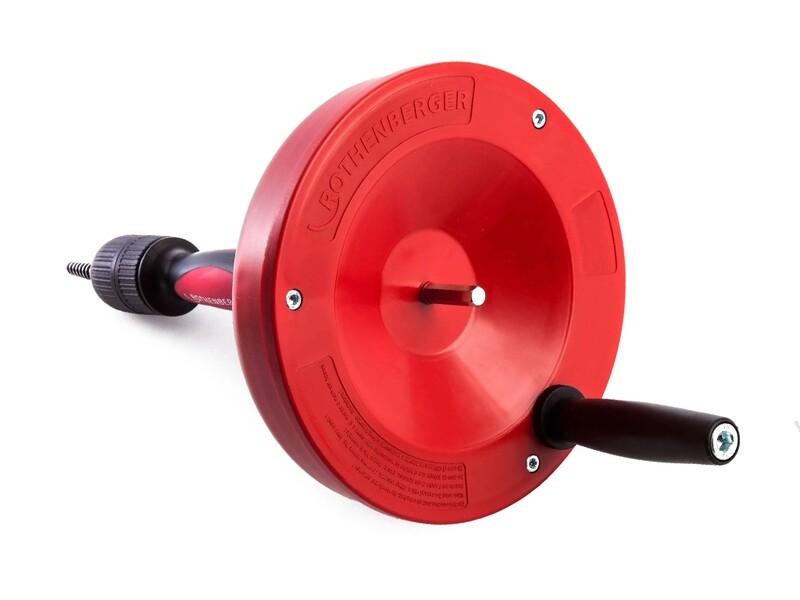 Ручное устройство для прочистки труб ROSPI 8 H + E