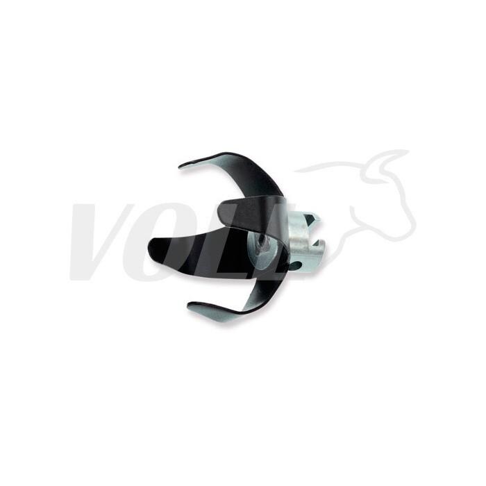 Двойной гладкий вильчатый скребок VOLL для спирали 16 мм