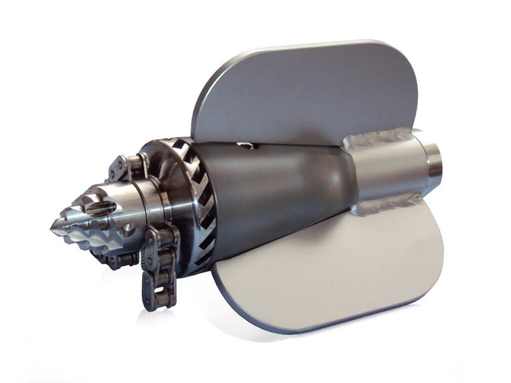 "Роторно-фрезерная насадка с турбинным приводом RTF Turbo I (соед 1/2"") USB"