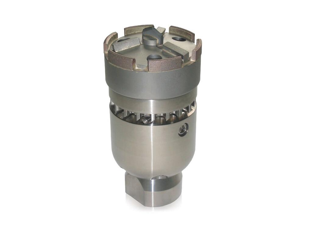 """Фрезерная насадка с турбинным приводом с алмазной коронкой 3D 95 мм (соед.1.1/4"""") USB"""