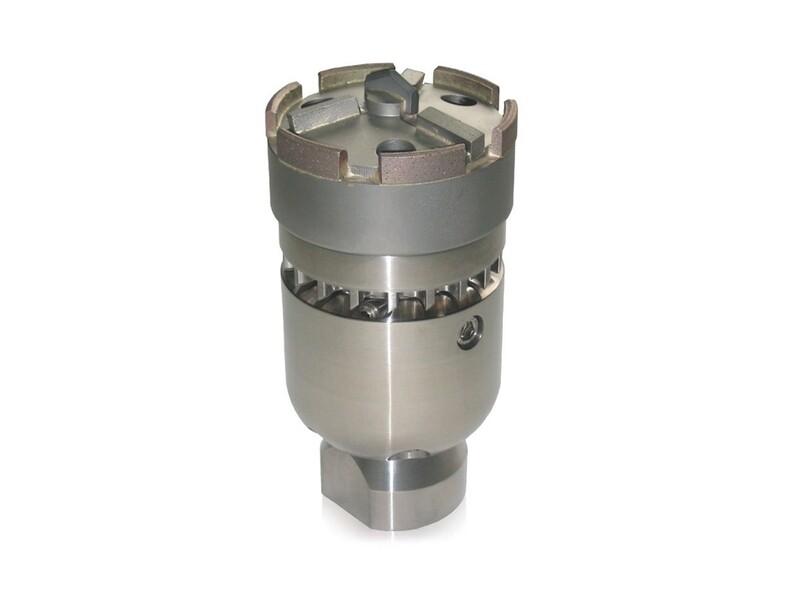 Фрезерная насадка с турбинным приводом с алмазной коронкой 3D 95 мм (соед.1.1/4