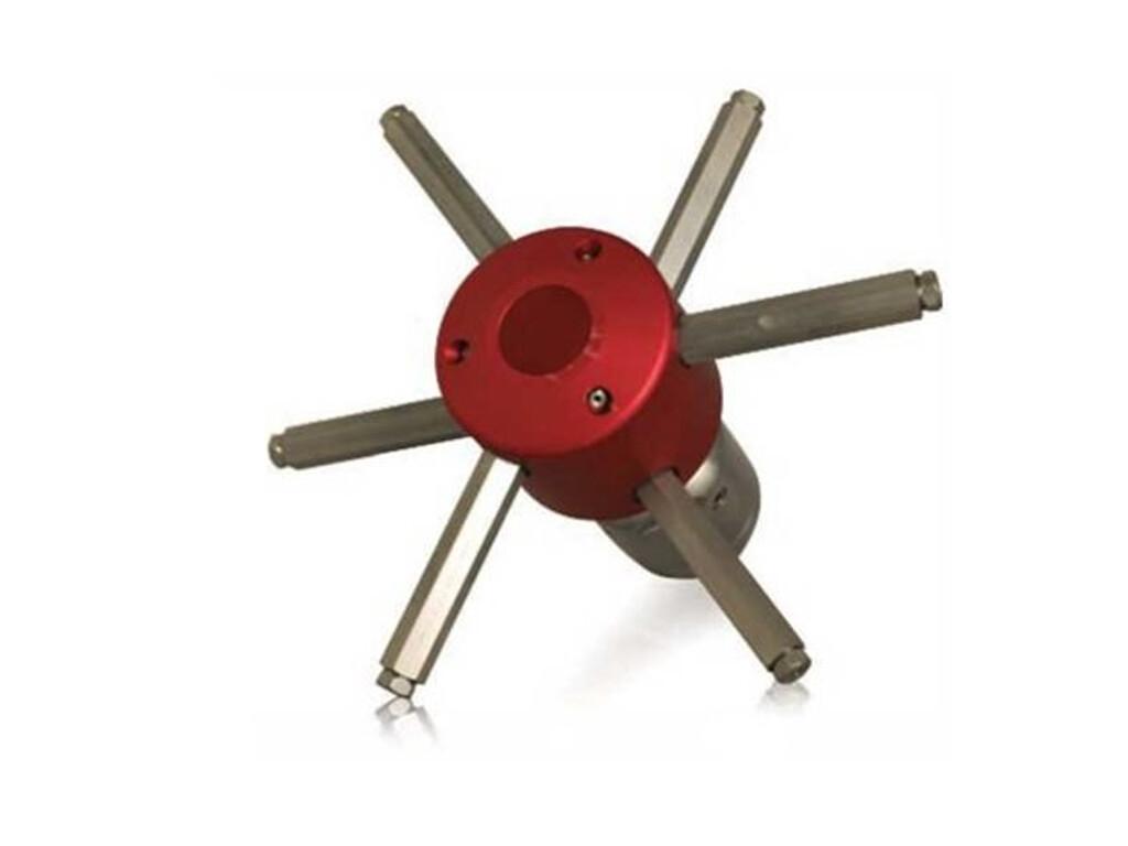 """Самоцентрирующаяся система Spin-Jet для чистки колодцев и люков (соед.1"""") USB"""
