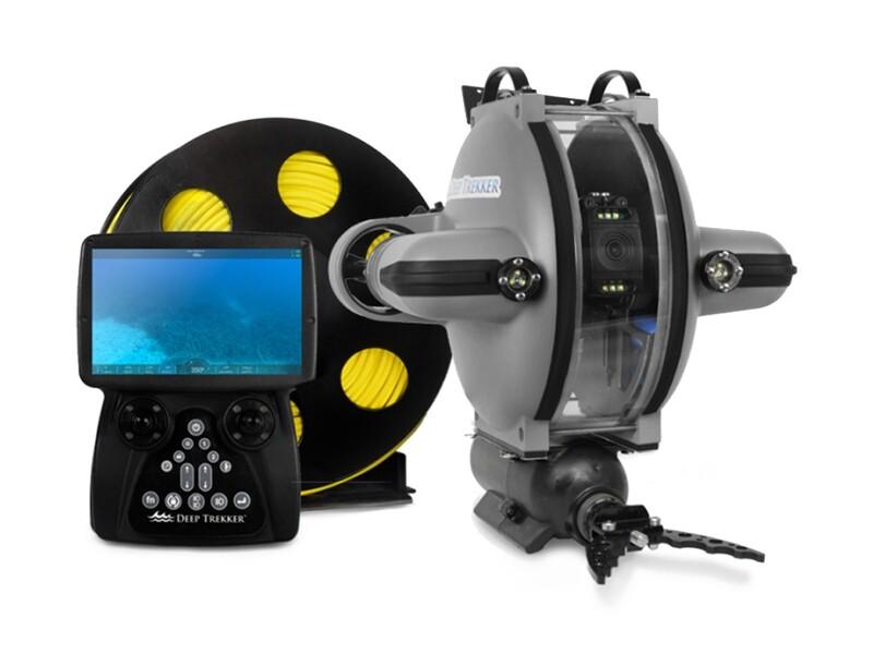 Управляемая подводная телеинспекционная ситема Deep Trekker PIPE-VIEW