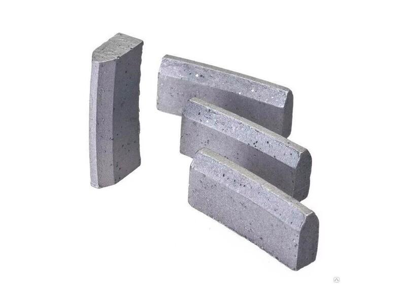 Алмазные сегменты Rapid для буровых коронок