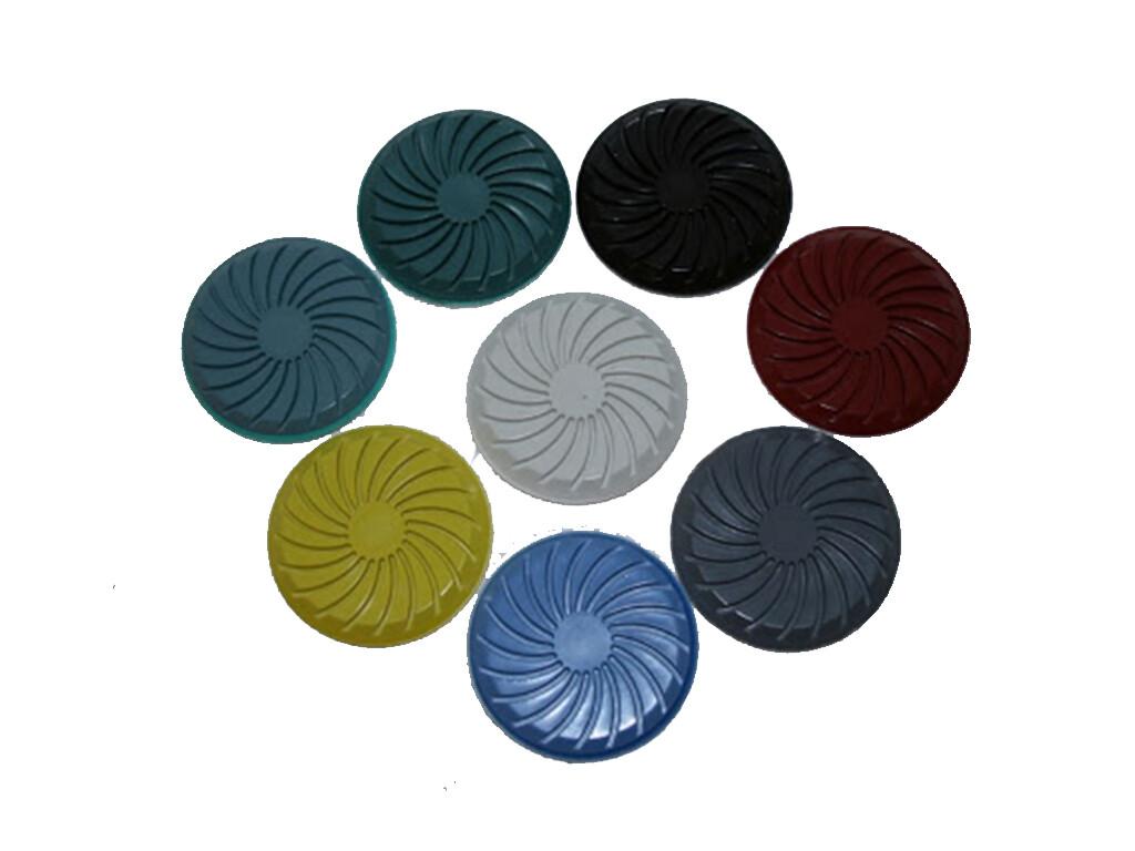 Спиральный полировочный пад для камня (мрамор травертин) на смоляной связке