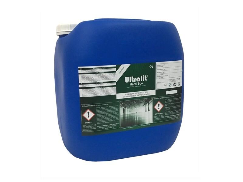 Упрочнитель для бетона на литиевой основе ULTRALIT HARD ECO / сухой остаток 8% (30 л)