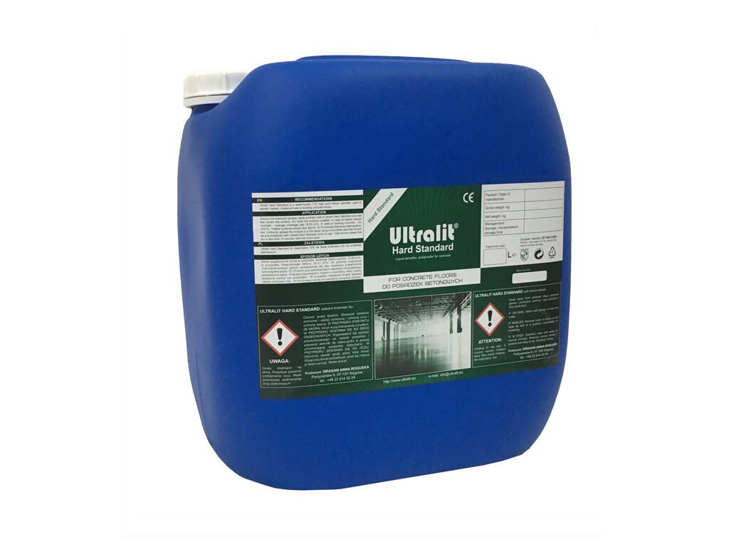 Упрочнитель для бетона на литиевой основе ULTRALIT HARD STANDARD (30 л)