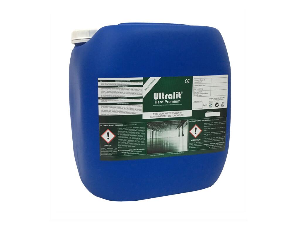 Упрочнитель для бетона на литиевой основе ULTRALIT HARD PREMIUM (30 л)