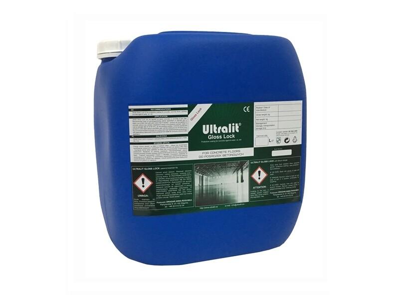 Защитная пропитка для бетона (вода /масло /грязь) ULTRALIT GLOSS LOCK /сух. ост 33.3%