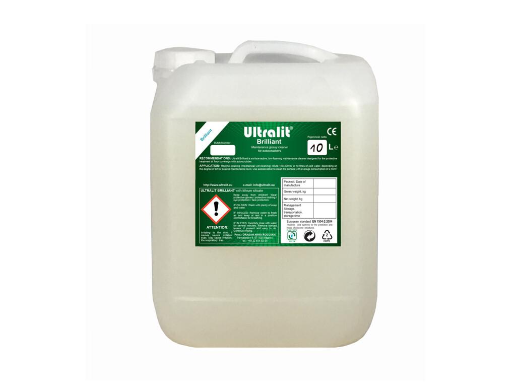 Чистящее средство для щадящей уборки покрытий поломоечными машинами ULTRALIT BRILLIANT