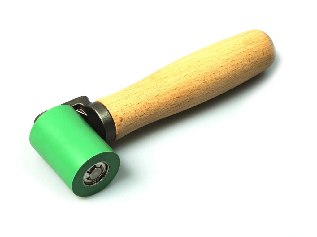 Прикаточный ролик 40 мм, на шарикоподшипнике, силиконовый