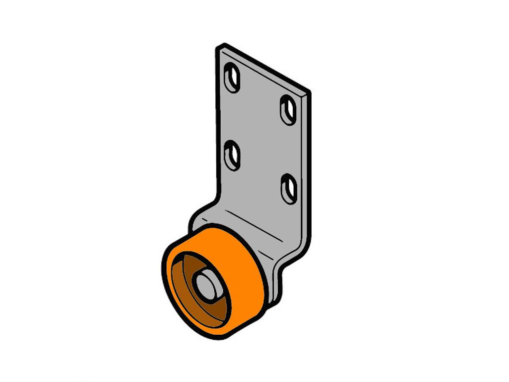 Прикаточный ролик силиконовый 12 мм
