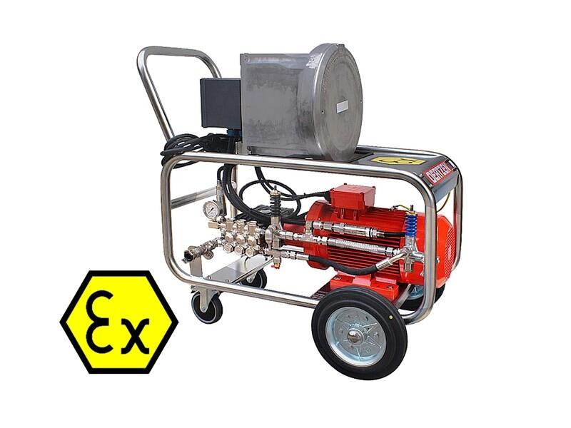 Аппарат высокого давления взрывозащищенный E 200-20 EX