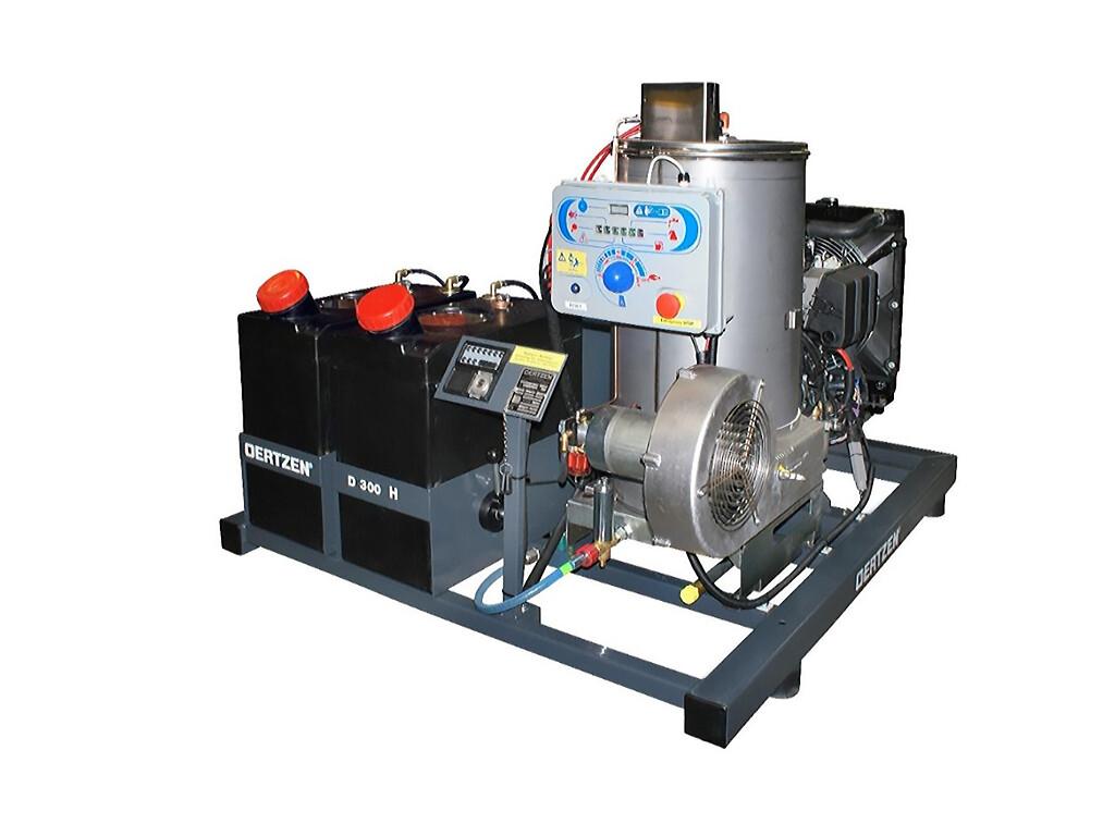 Стационарная автономная установка сверхвысокого давления с нагревом D 300H