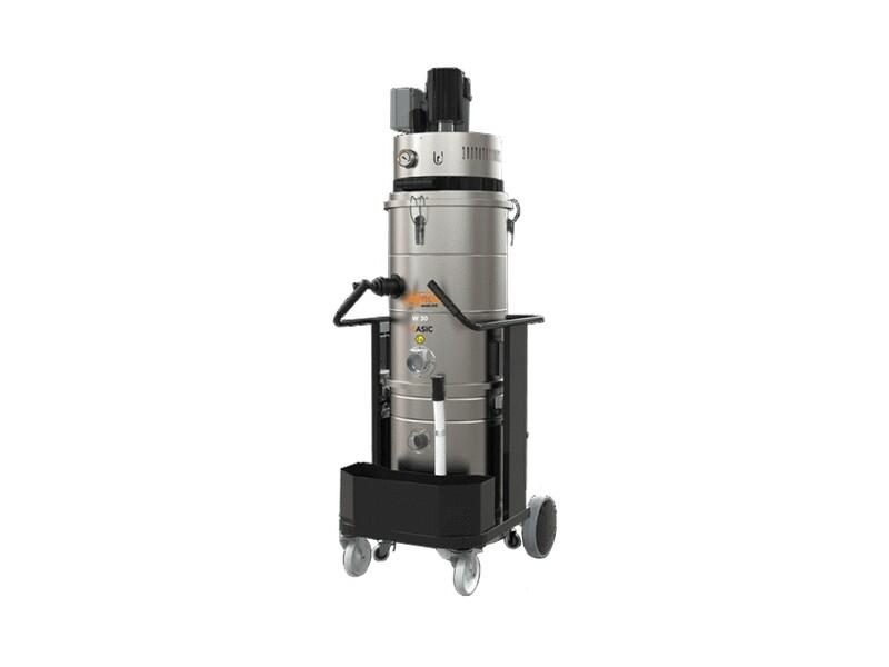 Промышленный пылесос BASIC TDC 30 W M с ручной очисткой фильтра