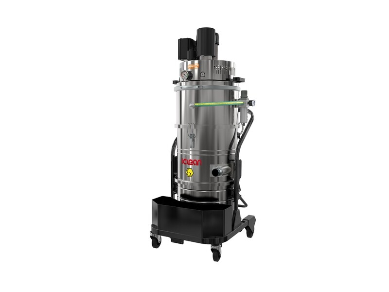 Промышленный пылесос ICLEAN ST 3 ATEX 2-22 класс H14