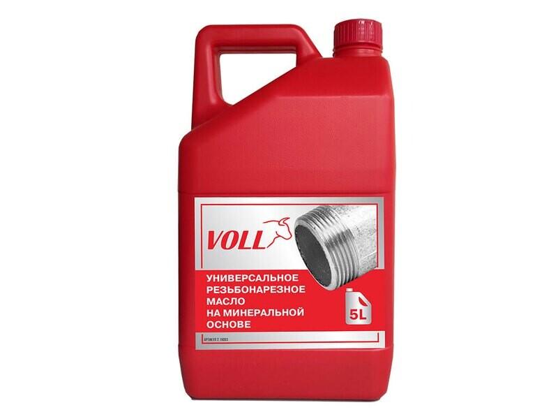 Универсальное резьбонарезное масло VOLL, 5 литров