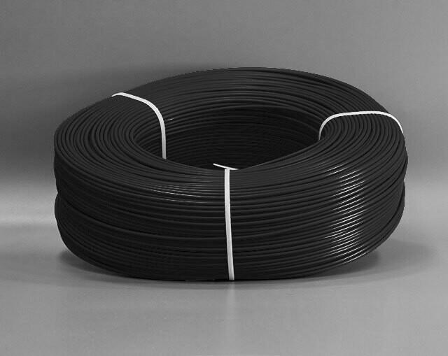 """Пруток сварочный ПП """"KONEKT"""" круглый, 4 мм, черный, 5 кг"""