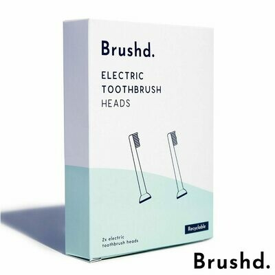 Brushd Replacement Electric Toothbrush Heads