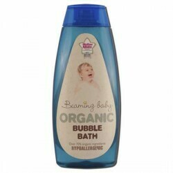 Organic Baby shampoo, bubble bath and lotion