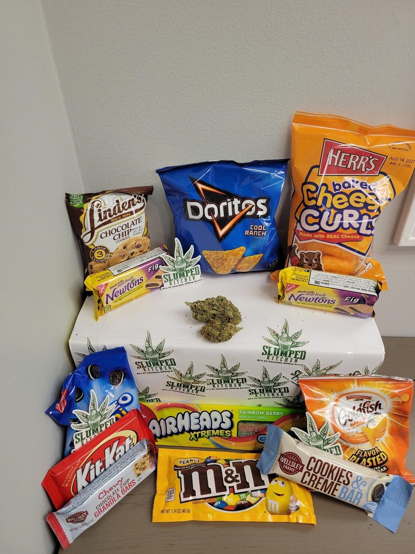 Green Crack (Budget Bud) (Sativa) - Munchie Pack